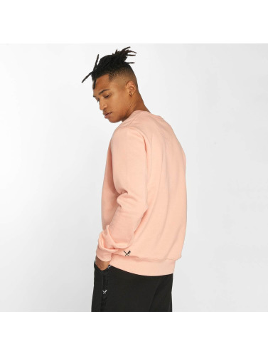 Distorted People Herren Pullover Black Tribe in rosa