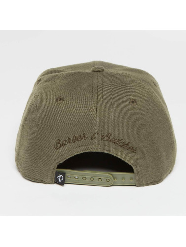 Distorted People Snapback Cap BB Blades in olive