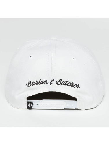 Distorted People Snapback Cap BB Blades in weiß