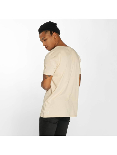 Distorted People Herren T-Shirt Barber & Butcher Paisley in beige