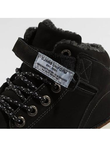 Djinns Herren Boots Wunk Fur Deff in schwarz