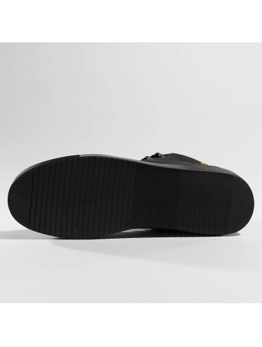 Djinns Herren Boots Fur in schwarz