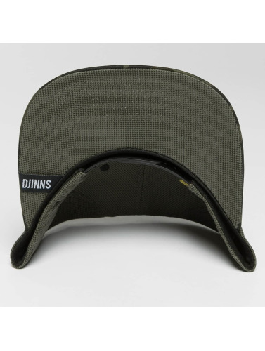 Djinns Snapback Cap Camo Snake 6 Panel in camouflage
