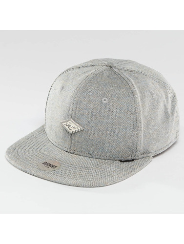 Djinns Snapback Cap Change 6 Panel in grau