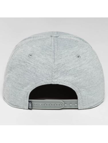 Djinns Snapback Cap 6 Panel Jersey Pin in grau