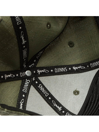 Djinns Snapback Cap Indoalot 6 Panel in olive