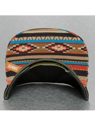 Djinns Snapback Cap 6P Jersey Aztec in schwarz