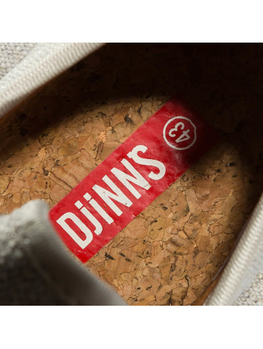 Djinns Sneaker Moc Lau in beige