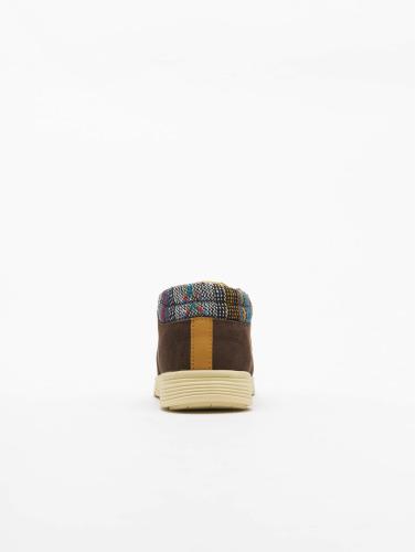 Djinns Sneaker Mid Lau in braun