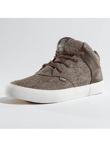 Djinns Herren Sneaker Chunk Indo Spots in braun