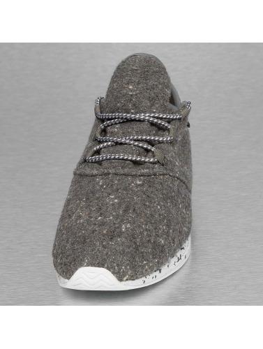 Djinns Herren Sneaker Moc Lau Spots in grau