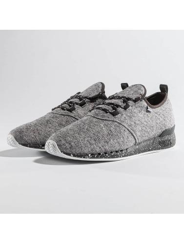 Djinns Herren Sneaker Moc Lau Spots Duplex in grau