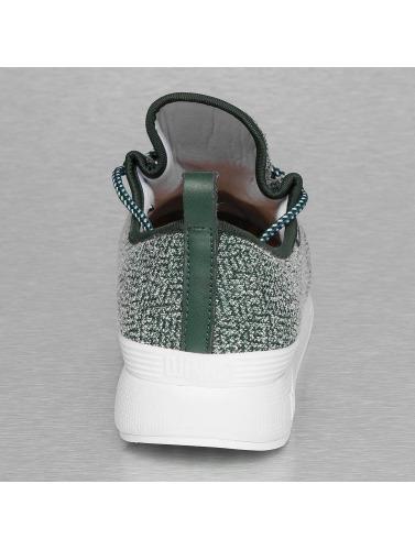 Djinns Herren Sneaker Moc Lau Squeeze IV in grün
