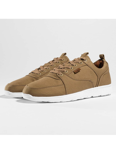 Djinns Herren Sneaker Forlow Light Canvas in khaki