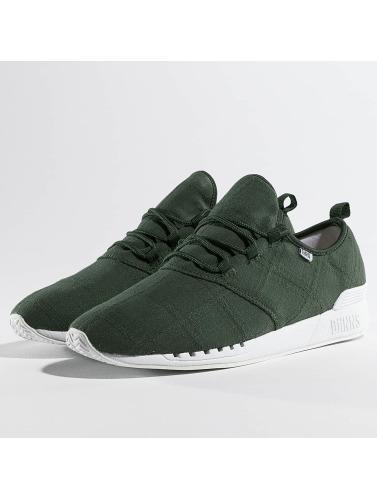 Djinns Sneaker Moc Lau Mix in olive