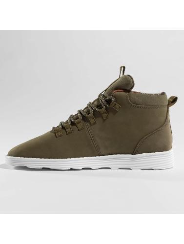 Djinns Herren Sneaker Trek High Light in olive