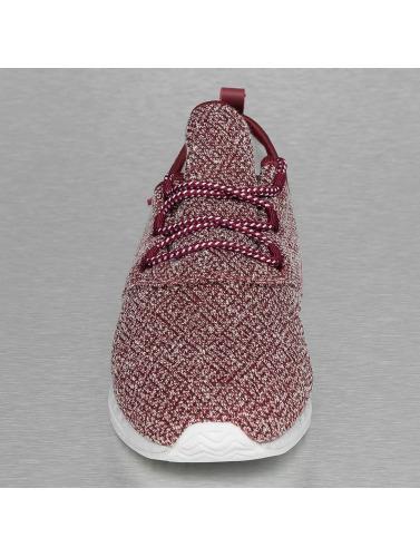 Djinns Herren Sneaker Moc Lau Squeeze IV in rot