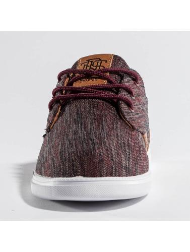 Djinns Sneaker Low Lau in rot