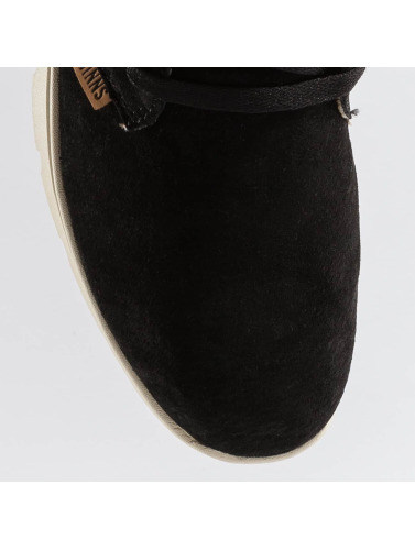 Djinns Sneaker Mid Lau Light Suede in schwarz