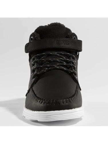 Djinns Herren Sneaker Wunk Fur Light in schwarz
