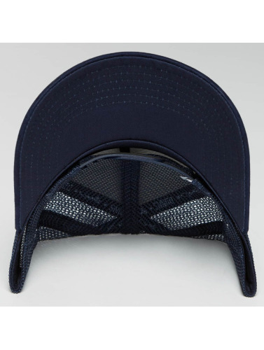 Djinns Trucker Cap HFT Tie Check in blau