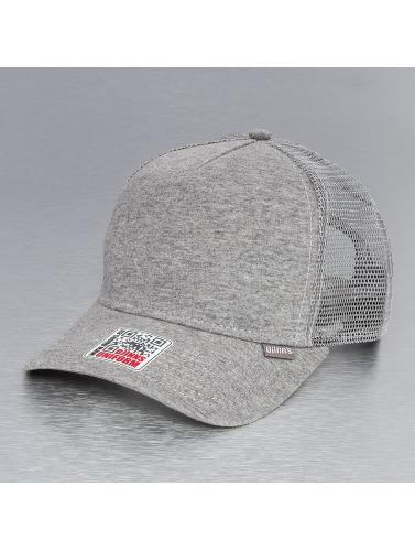 Djinns Trucker Cap Cut & Sew High Fitted in grau