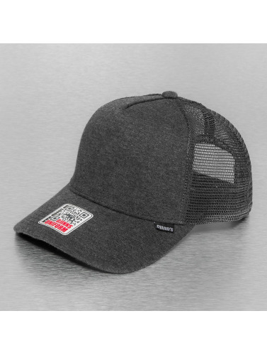 Djinns Trucker Cap Cut & Sew High Fitted in grau