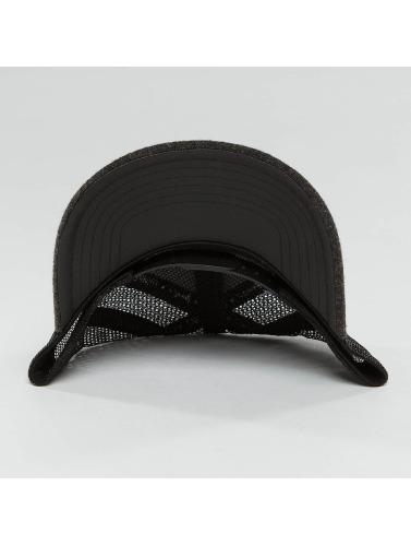 Djinns Trucker Cap Flannel in schwarz