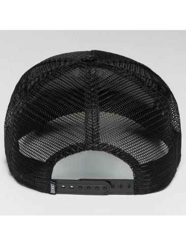 Djinns Trucker Cap HFT Woven Bast in schwarz