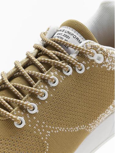 Djinns Hombres Zapatillas de deporte Easy Run Gator Knit in beis