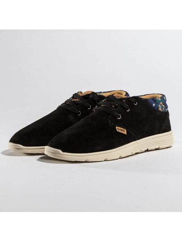 Djinns Zapatillas de deporte Mid Lau Light Suede in negro