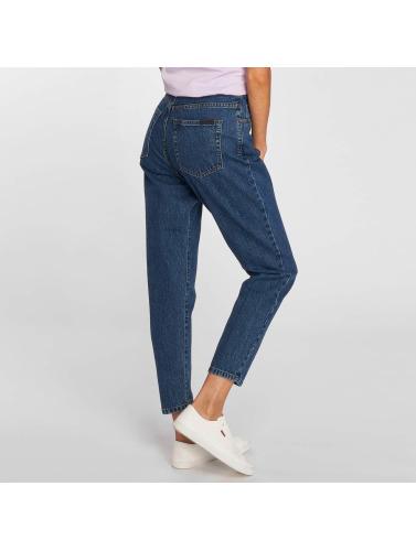 Dr. Denim Mujeres Jeans de cintura alta Nora Mom in azul