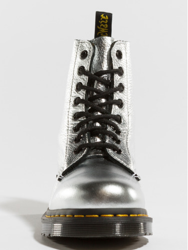 Dr. Martens Mujeres Boots Pascal MET Santos in plata