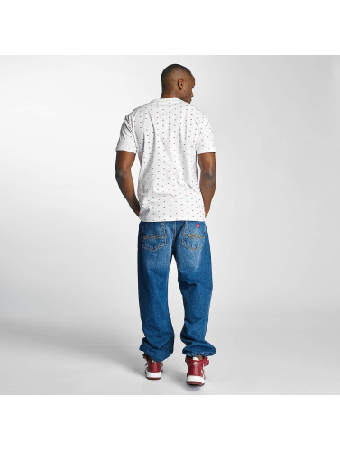 Ecko Unltd. Hombres Camiseta Everywhere are Rhinos in blanco