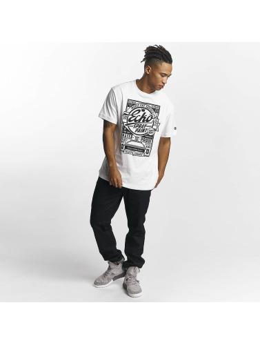 Ecko Unltd. Hombres Camiseta Gordon´s Bay in blanco