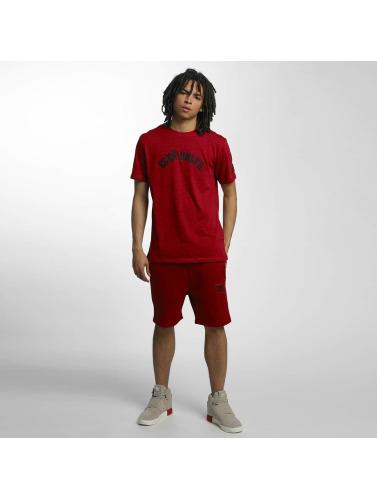 Ecko Unltd. Hombres Camiseta Melange in rojo