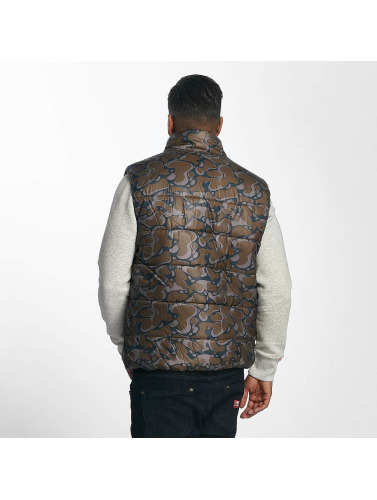 Ecko Unltd. Hombres Chaleco Dr. Daddy in camuflaje