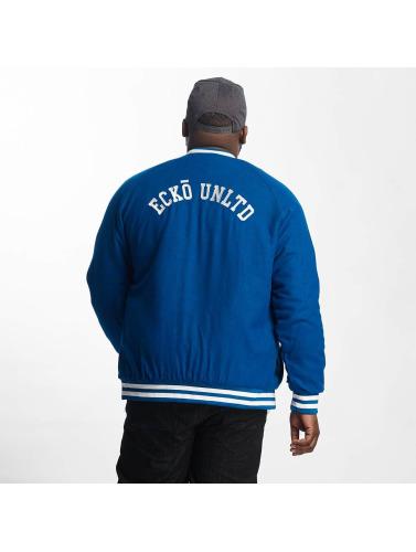 Ecko Unltd. Hombres Chaqueta de béisbol JECKO in azul
