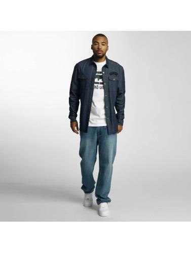 Ecko Unltd. Herren Hemd Jeans in indigo