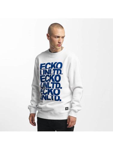Ecko Unltd. Hombres Jersey Fuerteventura in blanco