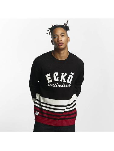 Ecko Unltd. Hombres Jersey Oldschool in negro