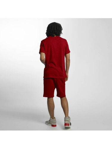 Ecko Unltd. Herren Shorts Melange in rot