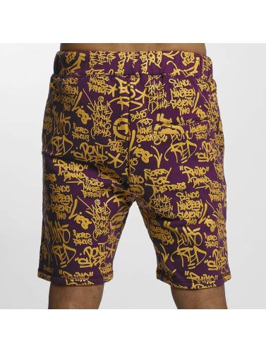 Ecko Unltd. Herren Shorts Allover in violet