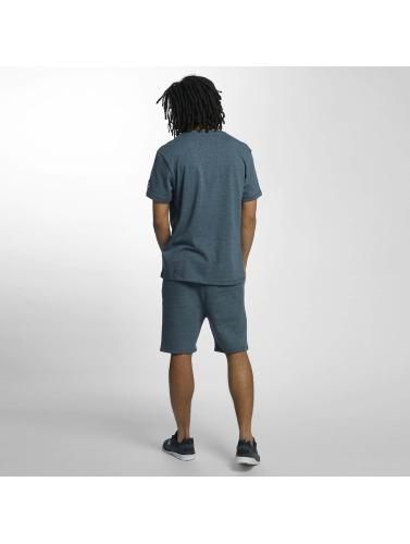 Ecko Unltd. Herren T-Shirt Melange in blau