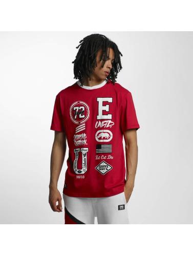 Ecko Unltd. Herren T-Shirt College Patches in rot