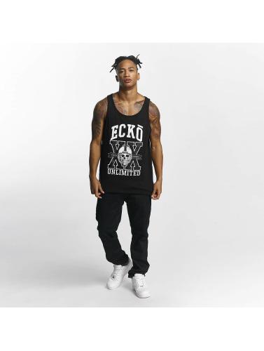Ecko Unltd. Hombres Tank Tops CityofJohannesburg in negro