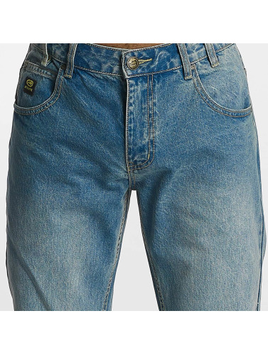 Ecko Unltd. Hombres Vaqueros rectos Gordon St Straight Fit in azul