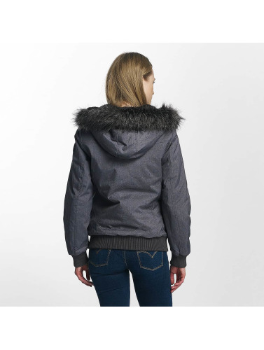 Eight2Nine Damen Winterjacke Big Hood in grau
