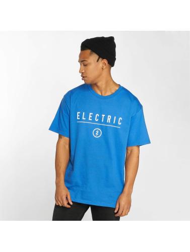 Electric Hombres Camiseta CORP IDENDITY in azul