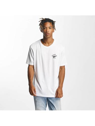 Electric Hombres Camiseta Mascot in blanco